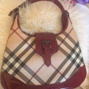 100 % Authentic Burberry Handbag